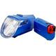 Trelock LS 360 I-GO ECO+LS 720 REEGO Fietsverlichting sets blauw